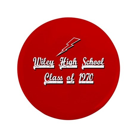 "Wiley Alumni 1970 3.5"" Button"