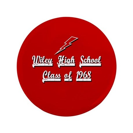 """Wiley Alumni 1968 3.5"""" Button (100 pack)"""