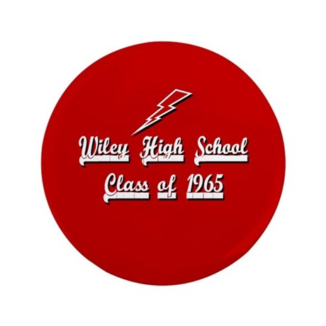 """Wiley Alumni 1965 3.5"""" Button (100 pack)"""