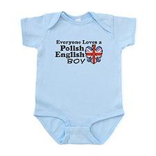 Polish English Boy Infant Bodysuit