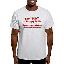 Say No Banner txt T-Shirt