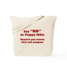 Unique Puppy mills Tote Bag
