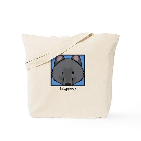 Anime Schipperke Tote Bag