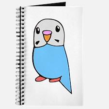 Cute Blue Budgie Journal