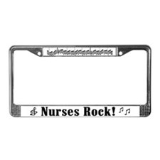 Nurses Rock License Plate Frame
