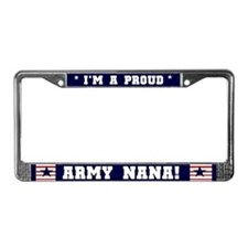 Proud Army Nana License Plate Frame