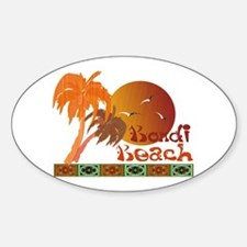 Bondi Beach Sticker (Oval)