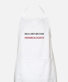 Real Men Become Nephrologists BBQ Apron