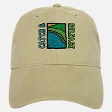 Catch and Release Baseball Baseball Cap