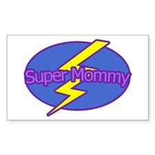 Super Mommy - Rectangle Decal
