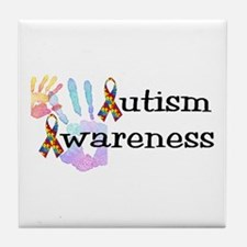 Autism Awareness Tile Coaster