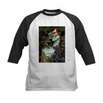 Ophelia / Flat Coated Retriev Kids Baseball Jersey