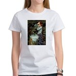Ophelia / Flat Coated Retriev Women's T-Shirt