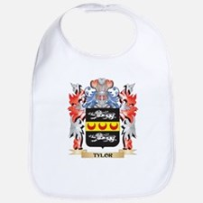 Tylor Coat of Arms - Family Crest Baby Bib