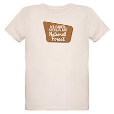 Mt. Baker-Snoqualmie (Sign) N T-Shirt