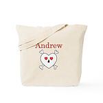 Andrew - Love Pirate Tote Bag