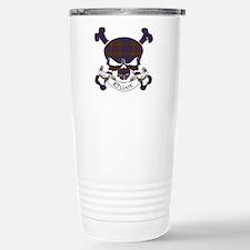 Elliot Tartan Skull Travel Mug