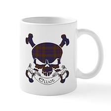 Elliot Tartan Skull Mug
