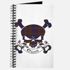 Elliot Tartan Skull Journal