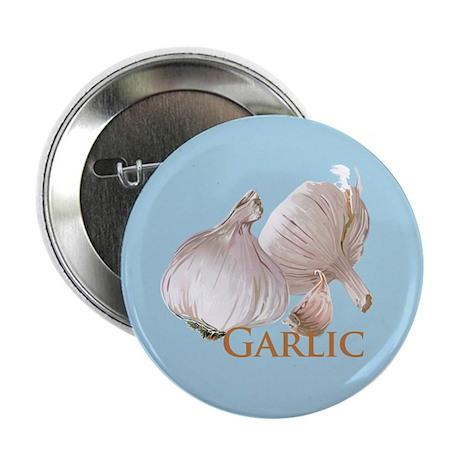 "Garlic and Garlic Clove 2.25"" Button"