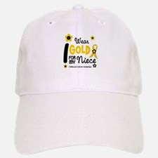 I Wear Gold 12 Niece CHILD CANCER Baseball Baseball Cap