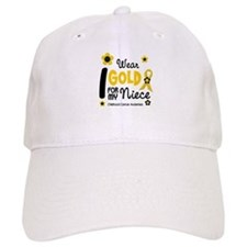 I Wear Gold 12 Niece CHILD CANCER Baseball Cap
