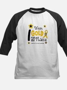 I Wear Gold 12 Niece CHILD CANCER Tee