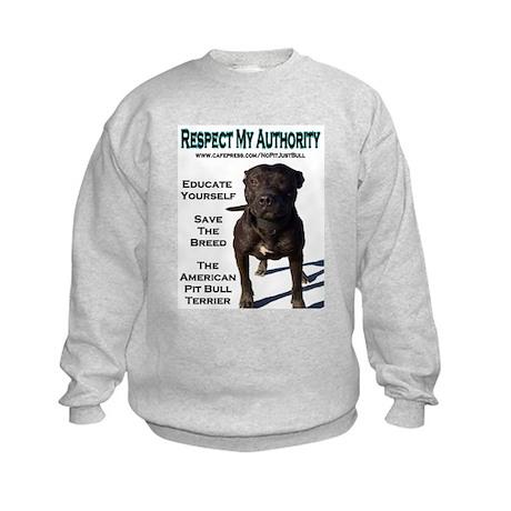 """""""Respect"""" Kids Sweatshirt"""