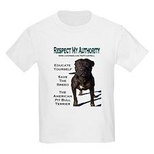 """""""Respect"""" Kids T-Shirt"""