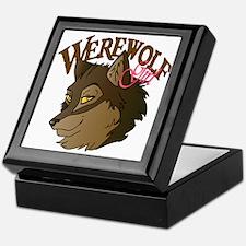 Werewolf Girl Writer Keepsake Box