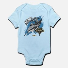 F-15 Eagle - MiG Parts Infant Bodysuit