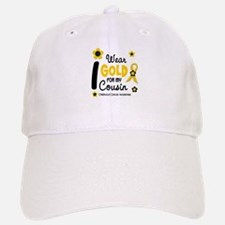 I Wear Gold 12 Cousin CHILD CANCER Baseball Baseball Cap