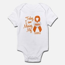 Missing My Dad 1 LEUKEMIA Infant Bodysuit