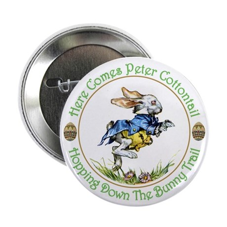 "PETER COTTONTAIL 2.25"" Button (100 pack)"
