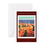 New England Connecticut Greeting Card