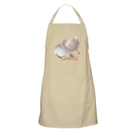 Garlic and Garlic Clove BBQ Apron