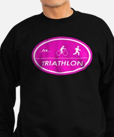 Triathlon Oval Pink Sweatshirt