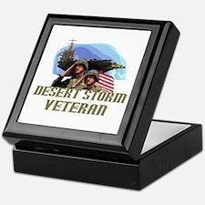 Desert Storm Veteran Keepsake Box