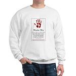 Muslim Fingerprinting Sweatshirt