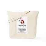 Muslim Fingerprinting Tote Bag