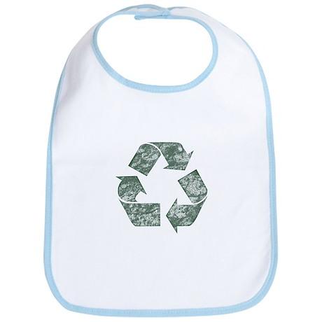Recycle Logo Earth Day T-Shir Bib