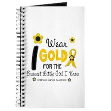 I Wear Gold 12 Brave Girl Journal