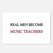 Real Men Become Music Teachers Postcards (Package