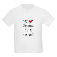 My Heart Belongs To A PB Kids T-Shirt