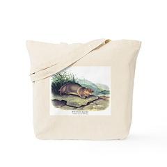Audubon Mountain Beaver Animal Tote Bag