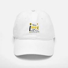 I Wear Gold 12 Little Hero CHILD CANCER Baseball Baseball Cap