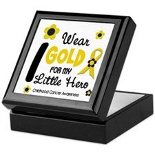 I Wear Gold 12 Little Hero CHILD CANCER Keepsake B