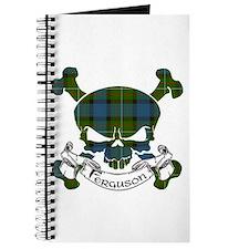 Ferguson Tartan Skull Journal
