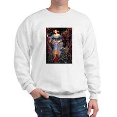 Flat Coated Retriever 1 Sweatshirt