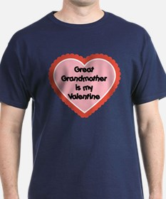 Great Grandmother is my Valentine T-Shirt